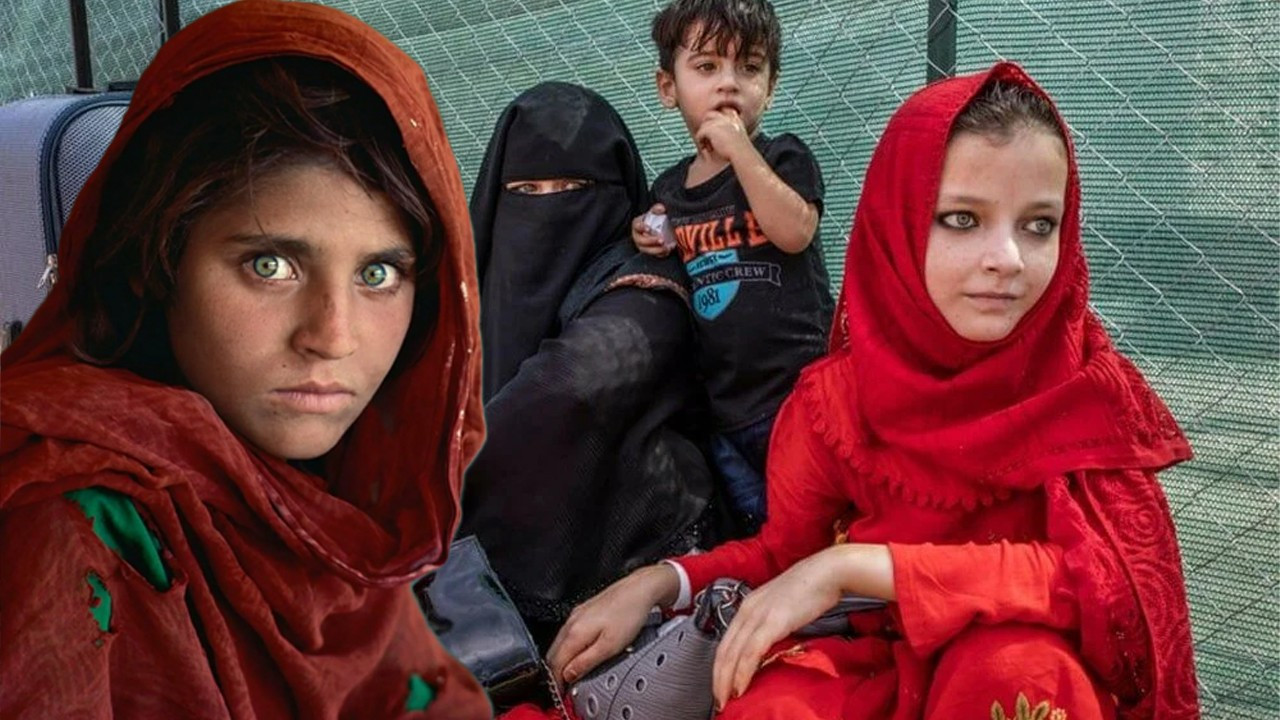 """İki ayrı """"Afgan kız"""", aynı hikaye"""