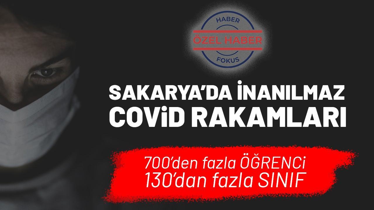 Sakarya'da kaç öğrenci koronavirüse yakalandı, kaç sınıf karantinada?