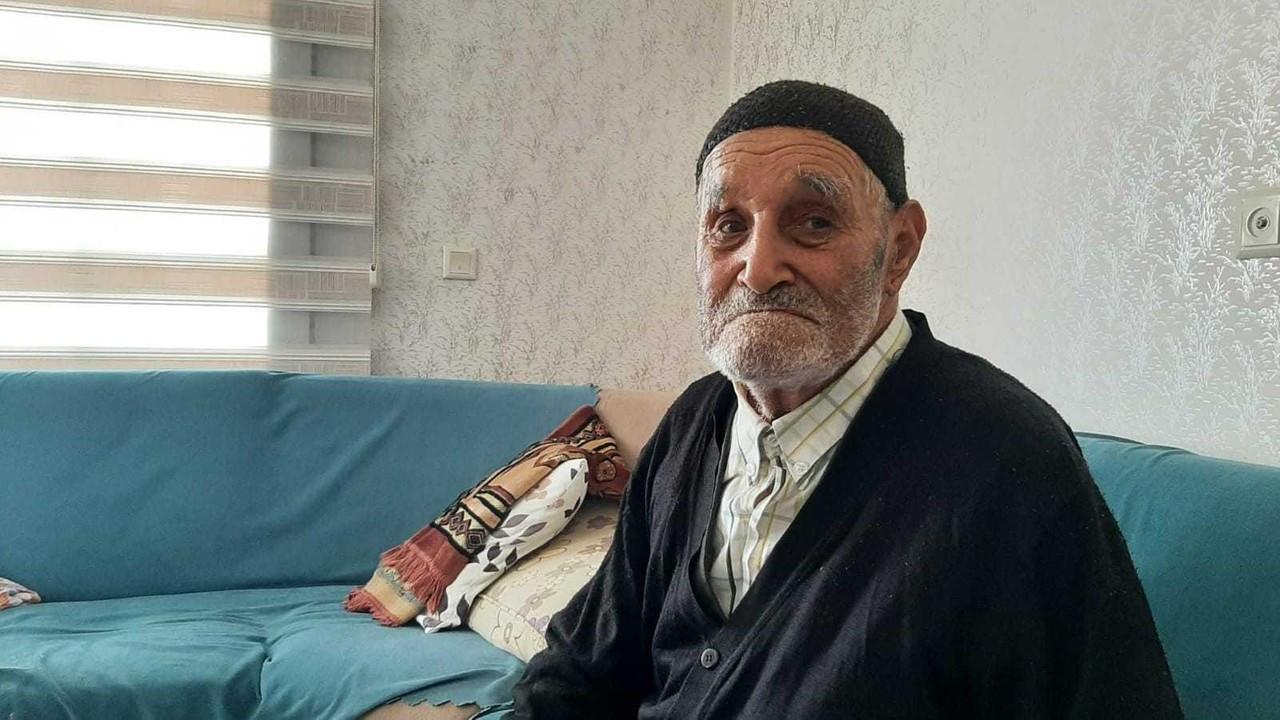 107 yaşındaki Osman dede oğlunu arıyor