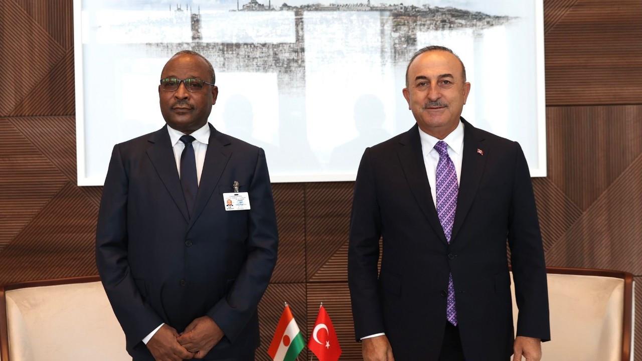 Dışişleri Bakanı Çavuşoğlu, Nijer Dışişleri Bakanı ile görüştü