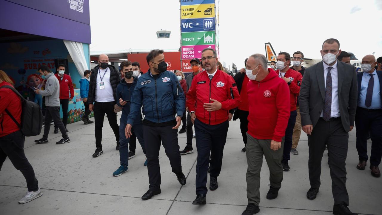 TEKNOFEST Türkiye'nin gelecek vizyonu ve hedefleri için çok önemli