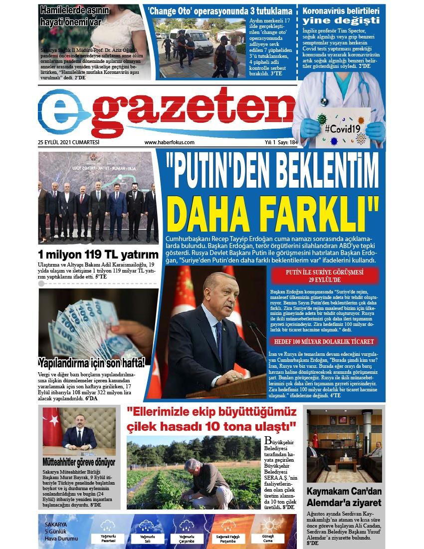 E-Gazeten 2021-09-25