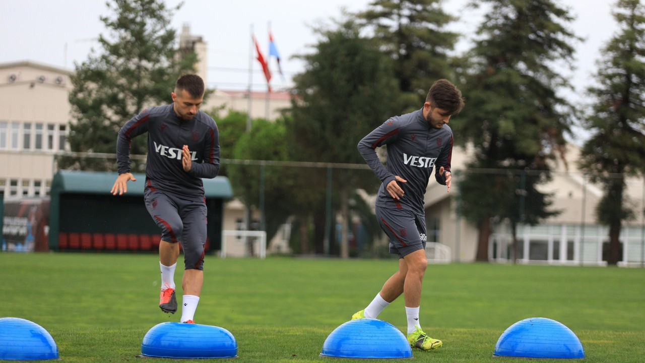 Trabzonspor'da Alanyaspor maçı hazırlıkları başladı