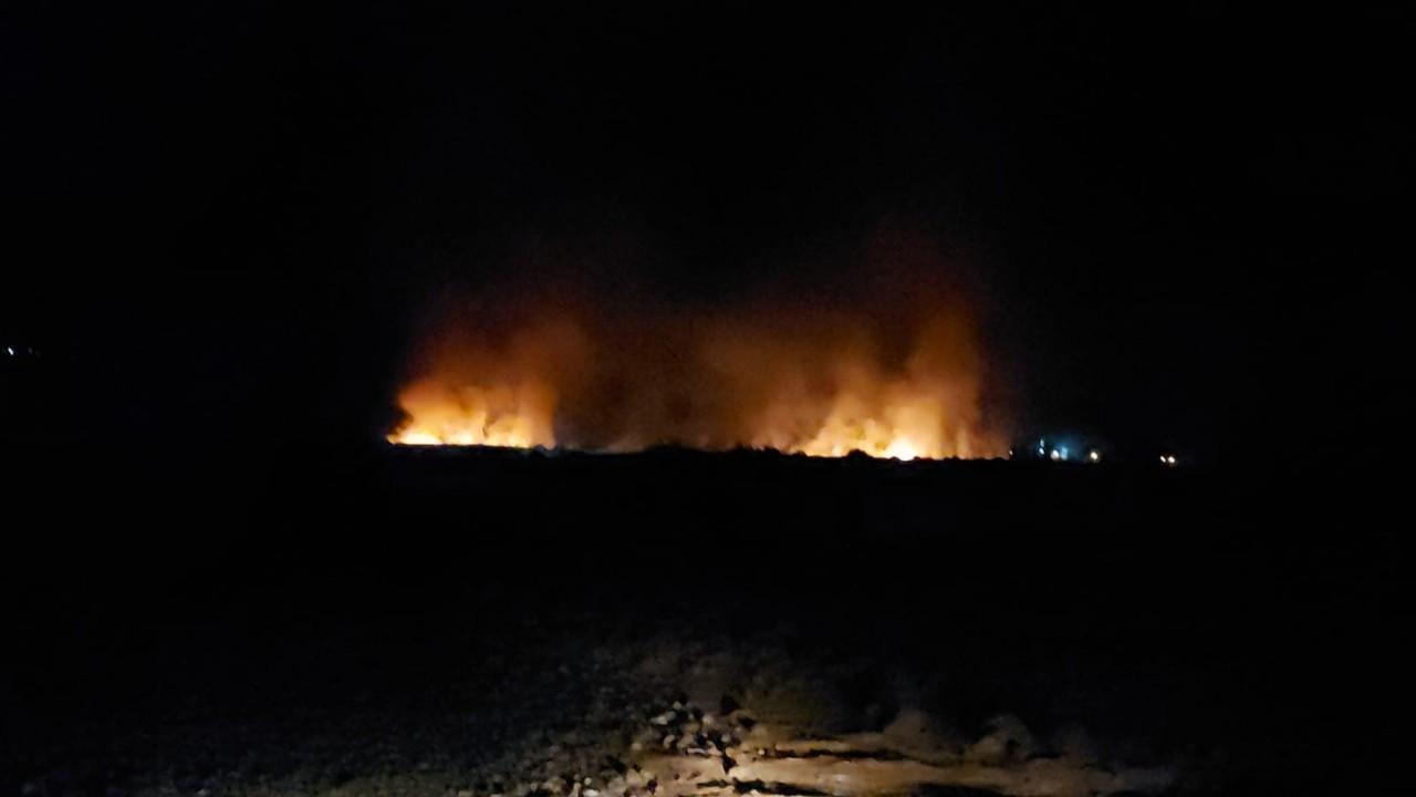 Hatay'da orman yangını: Müdahale sürüyor