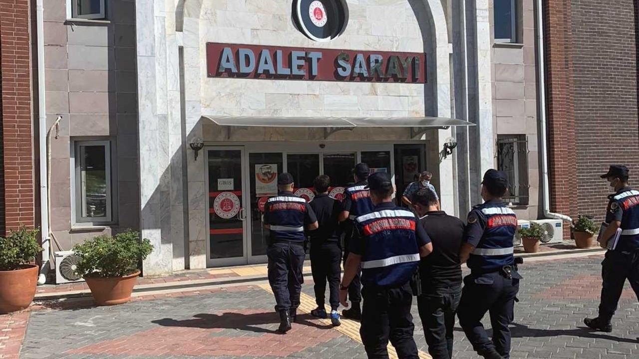 Isparta'da konteynır hırsızlığı şüphelisi 2 kişi tutuklandı