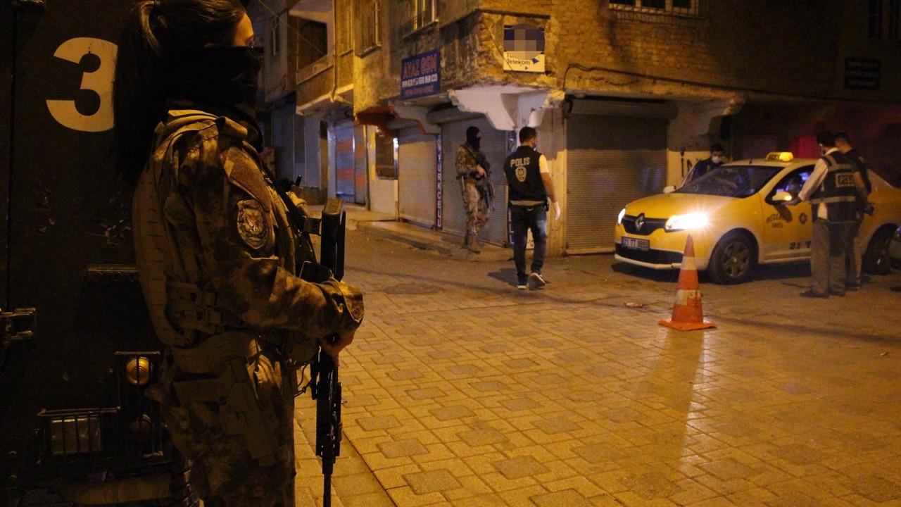 'Narko Alan Diyarbakır' projesi 1200 polisle gece de sürdü