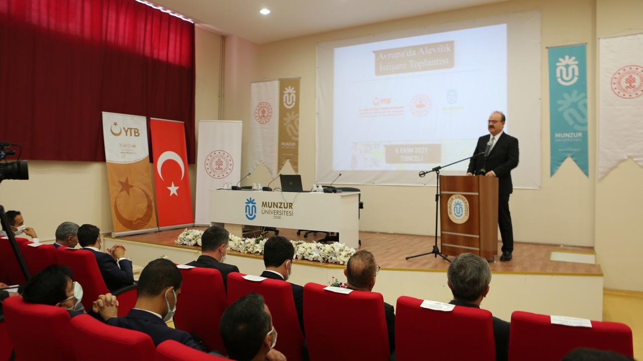 Bakan Yardımcısı Çam: Türkiye'yi ve Anadolu'yu tanımak için Tunceli'yi tanımak lazım
