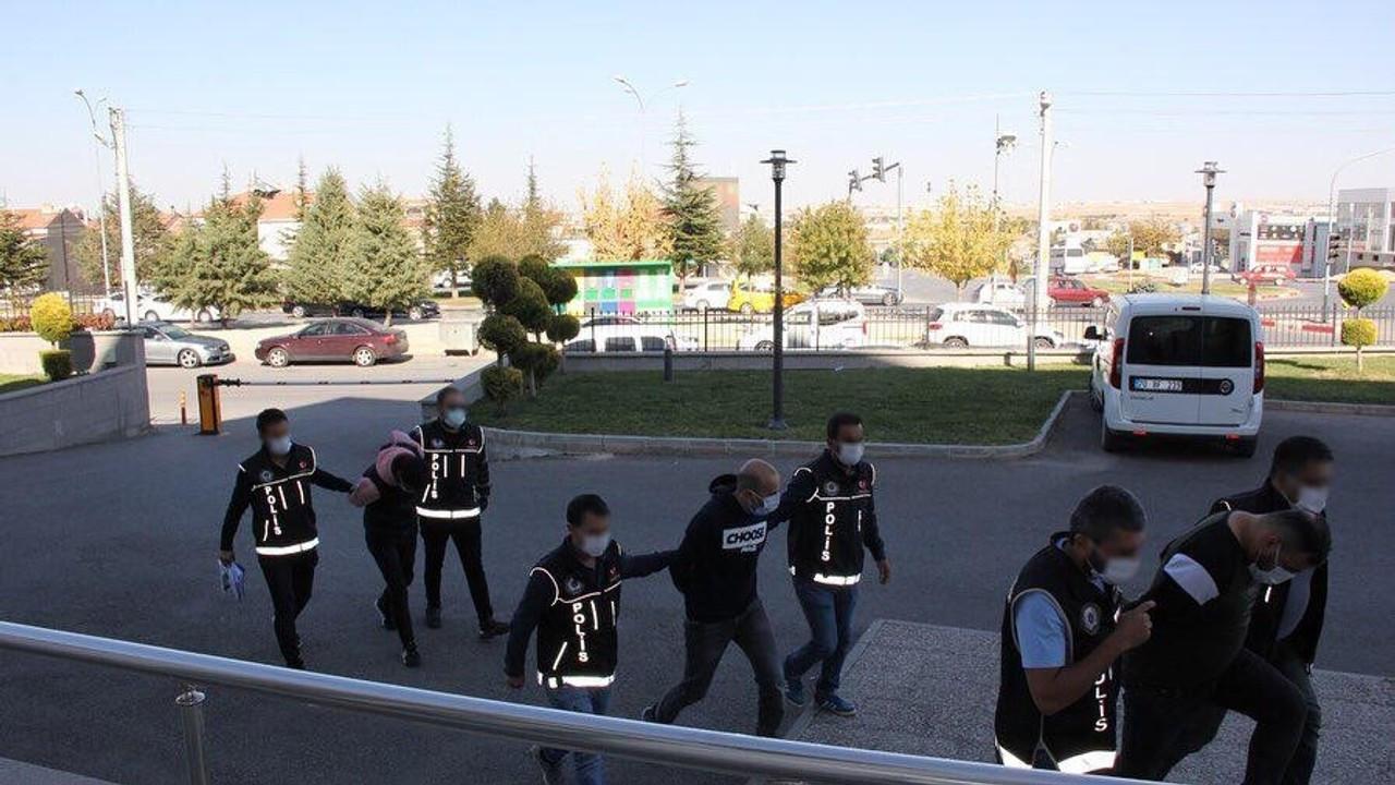 Karaman'da uyuşturucu operasyonu; 4 gözaltı