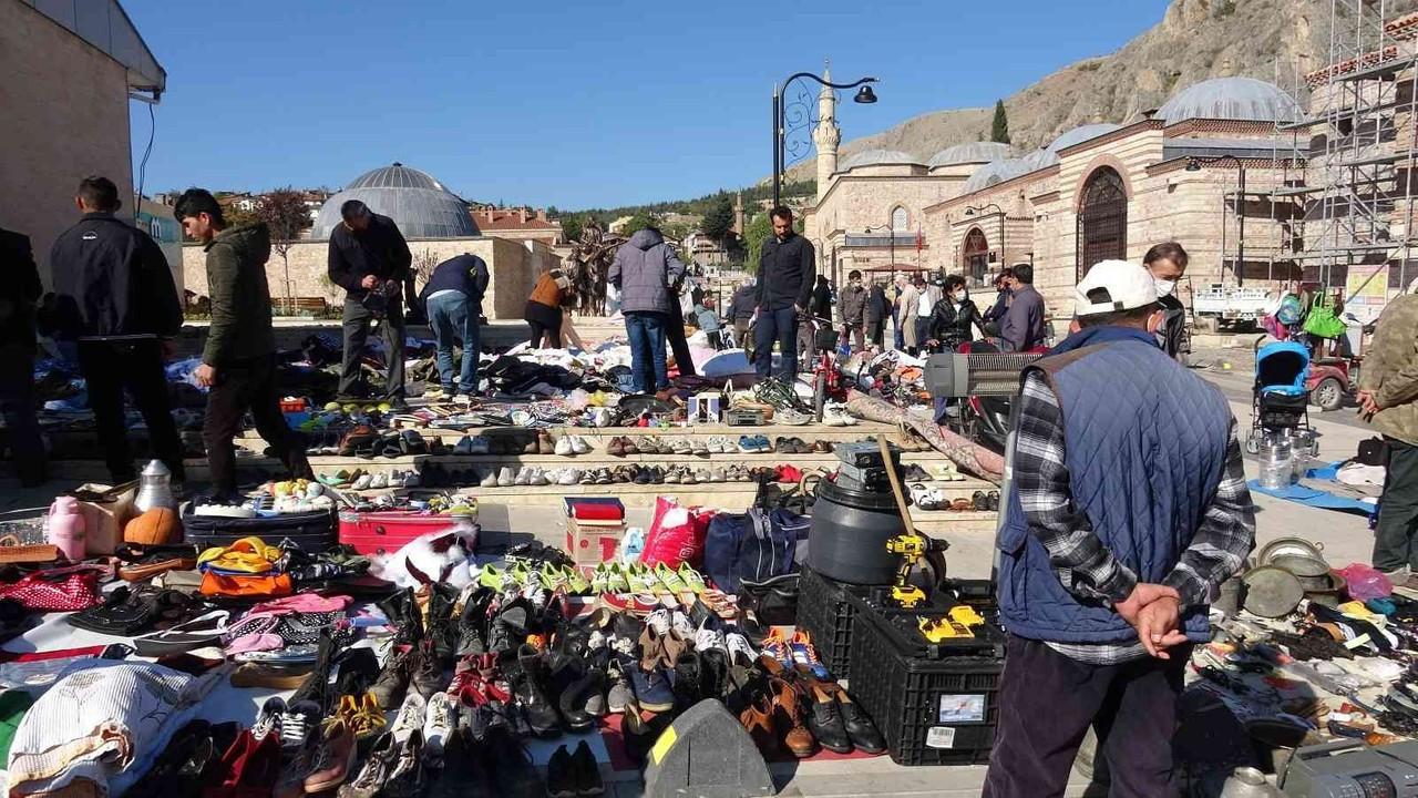 Asırlık ikinci el ürün pazarına yoğun ilgi