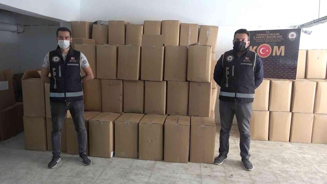 1,5 ton kaçak tütün ile yakalanan 3 şüpheli serbest bırakıldı