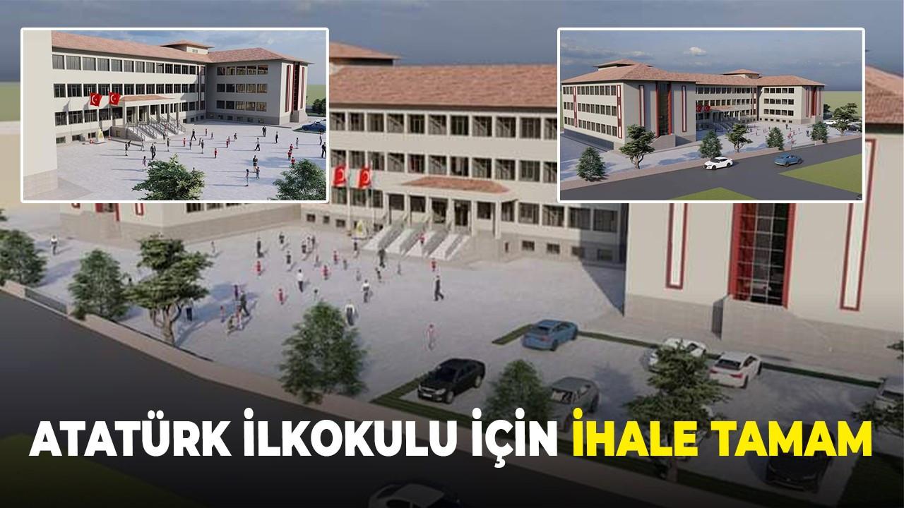 Atatürk İlkokulu için ihale tamam