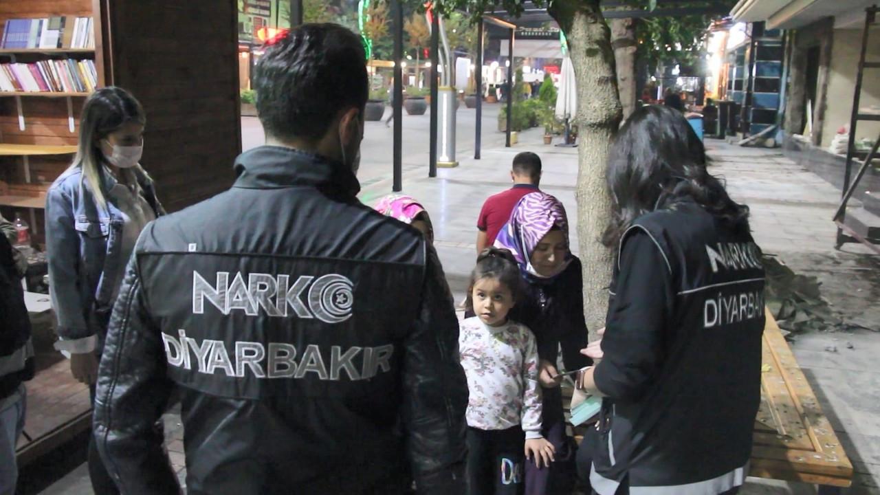 Diyarbakır'da 200 polisle uyuşturucu denetimi