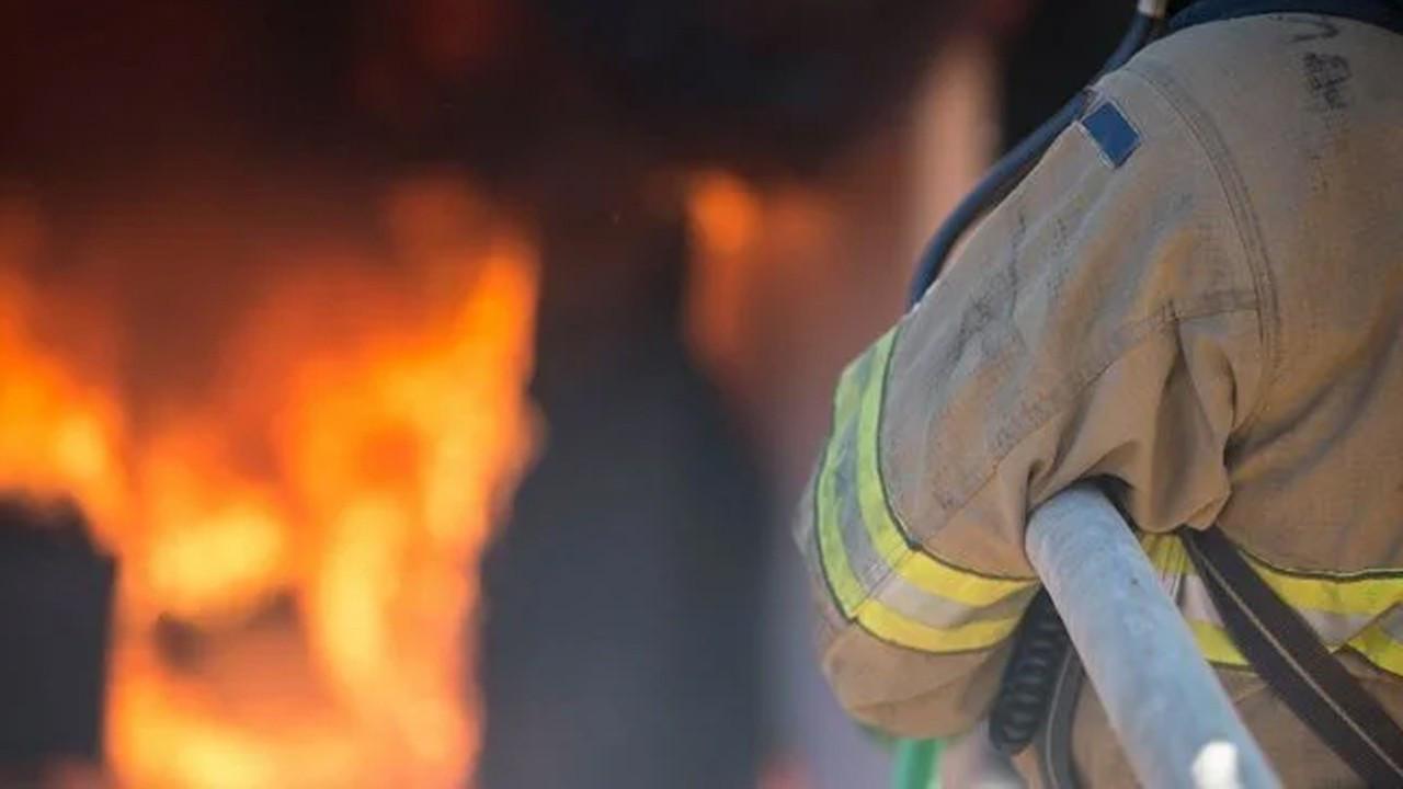 Afyonkarahisar'da evinde yangın çıkan yaşlı kadın öldü