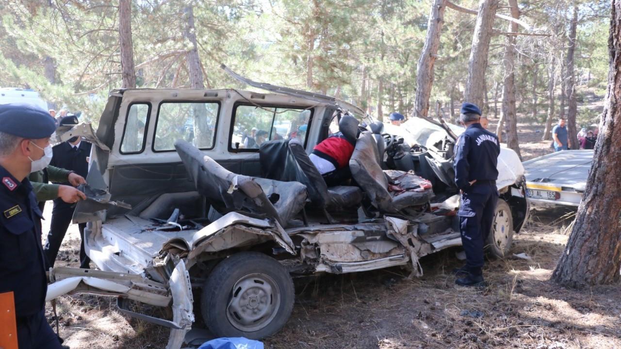 Koşup kazayı haber vermişti, kardeşi de kazada hayatını kaybetti!