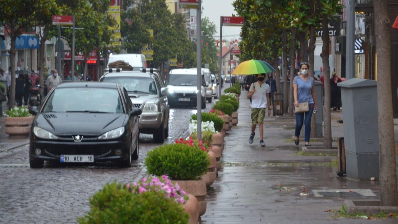 Meteorolojiden Balıkesir için kuvvetli rüzgar ve sağanak yağış uyarısı