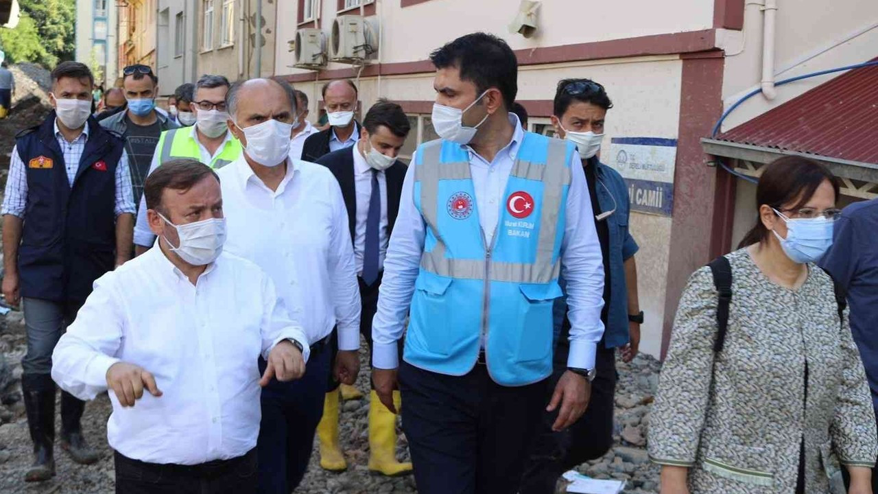Giresun'a sel mağdurları için yeni bir TOKİ projesi