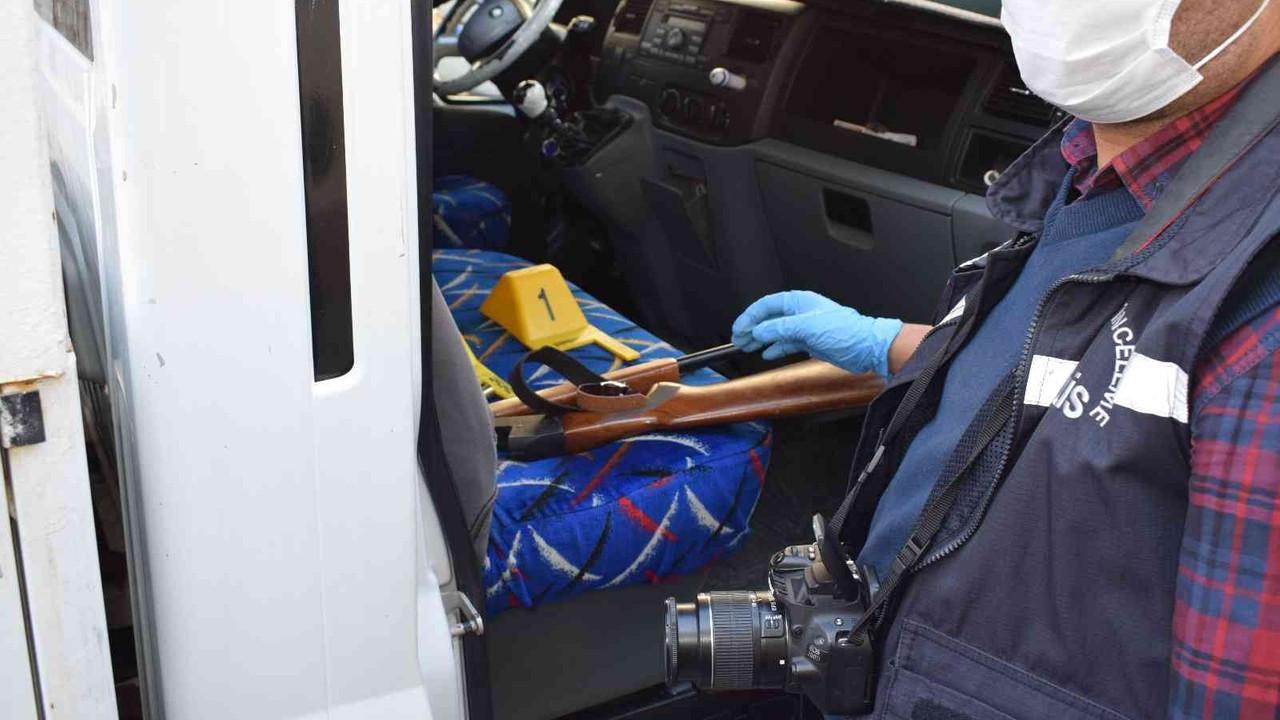 Malatya'da polisin kovaladığı araçtan tüfek çıktı