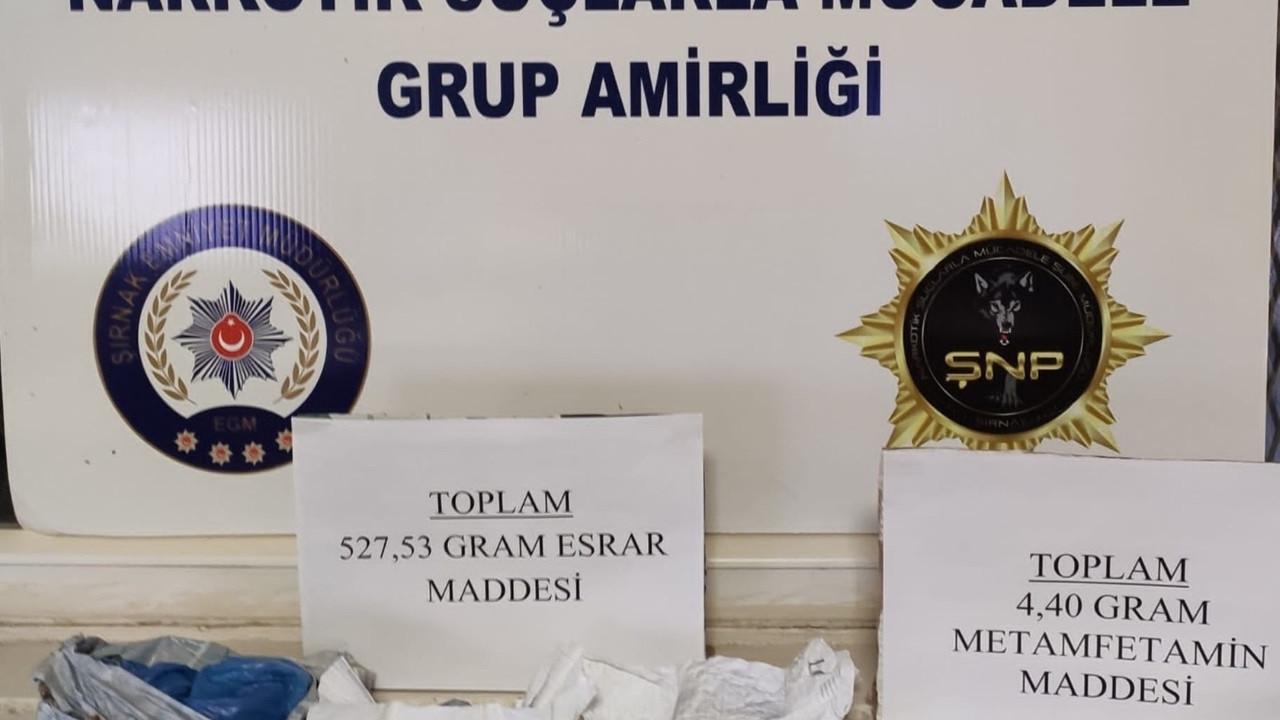 Şırnak'taki kaçakçılık ve asayiş operasyonlarında 63 gözaltı