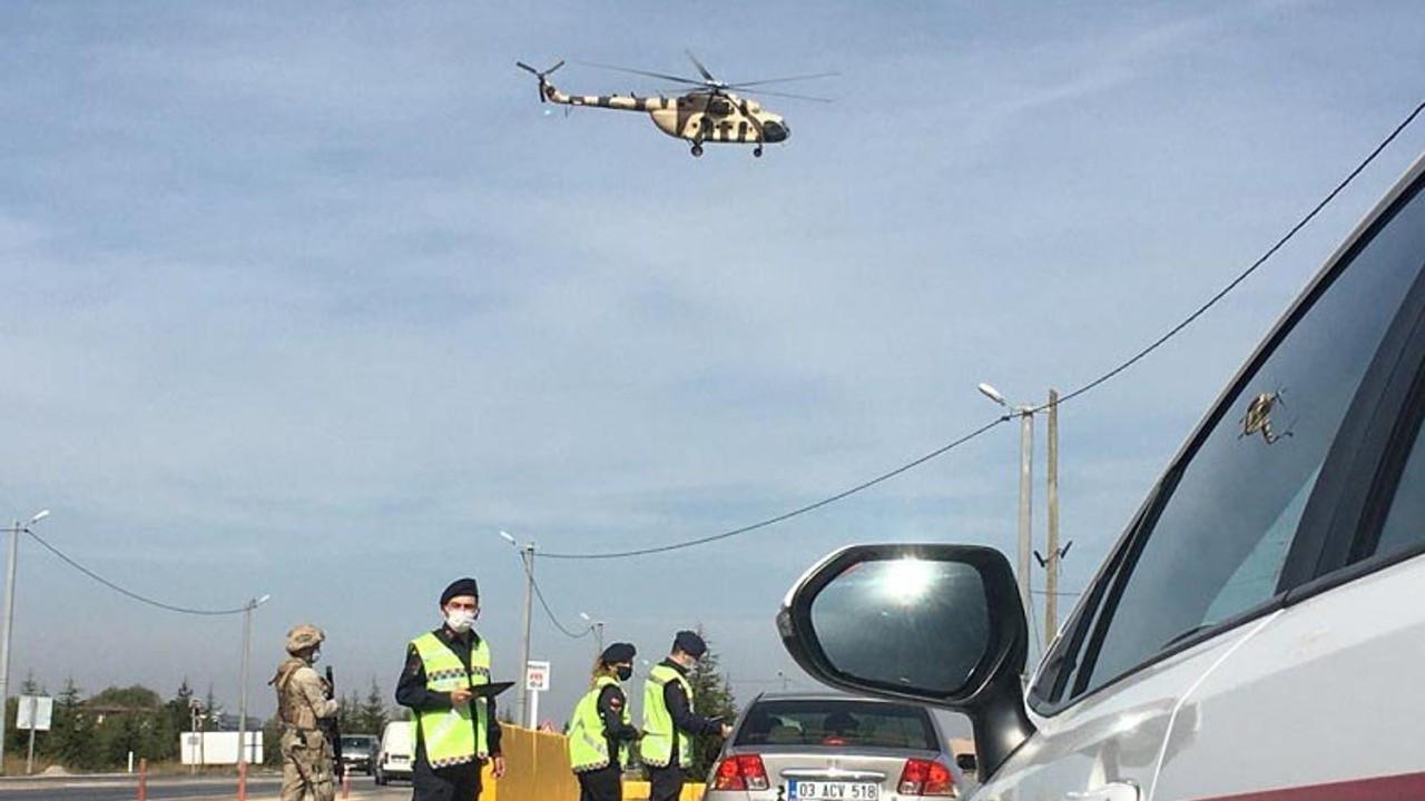 Eskişehir'de havadan trafik denetiminde 8 bin 606 TL ceza
