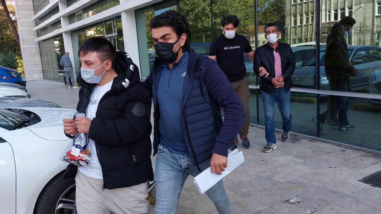 Samsun'da 14 bin 765 uyuşturucu hapla yakalanan 2 kişi tutuklandı