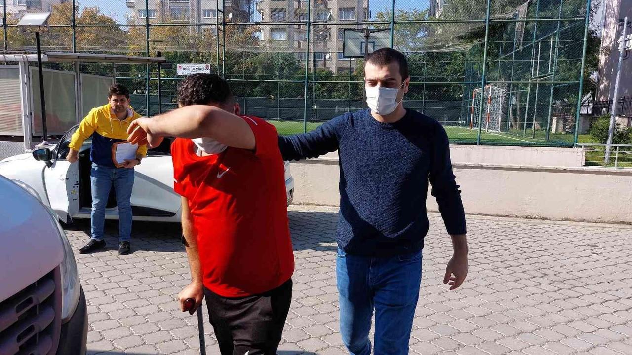 Samsun'da otogarda uyuşturucuyla yakalanan şahıs tutuklandı