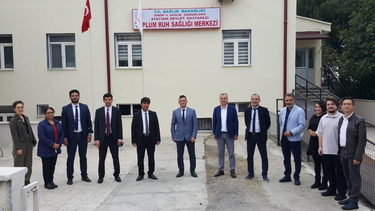 Sinop'ta Dünya Ruh Sağlığı Günü