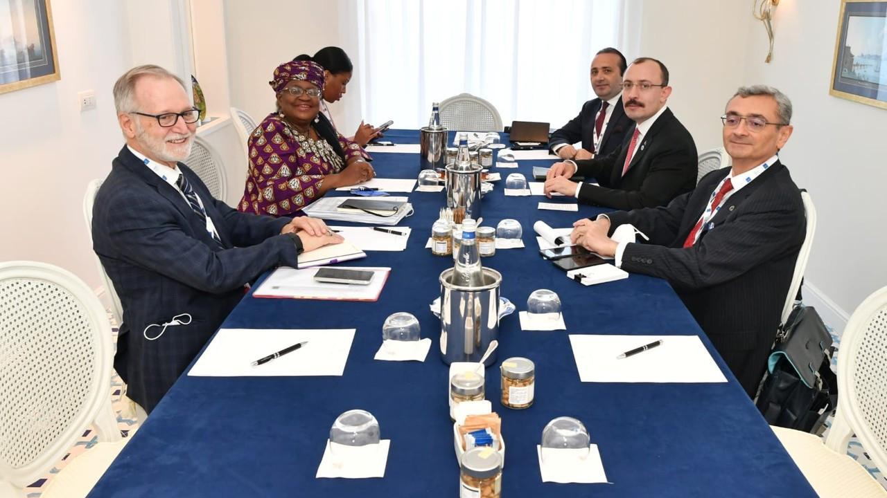 Ticaret Bakanı Muş, İtalya'da ikili temaslarına devam etti