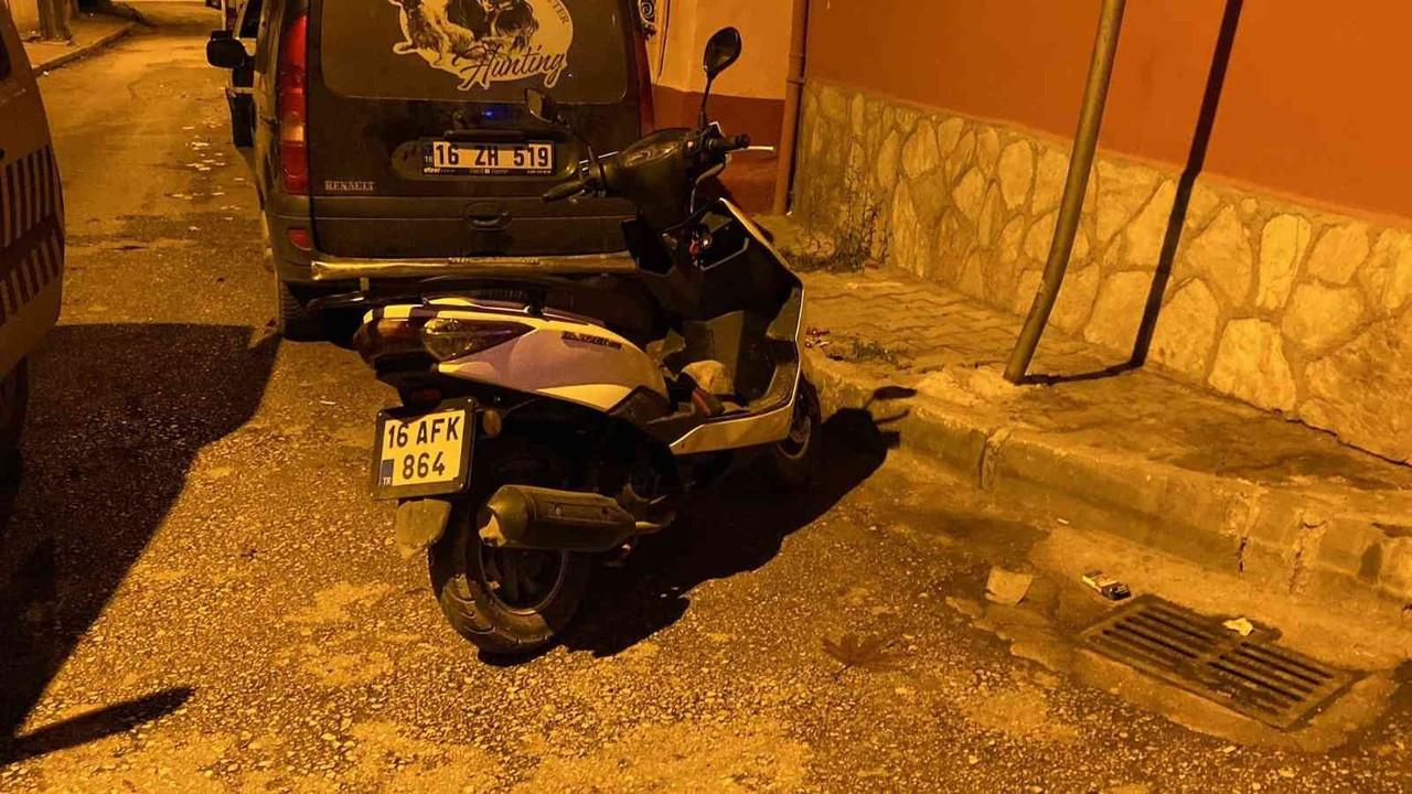 Emanet aldığı motosiklet ile uyuşturucu satarken yakalandı
