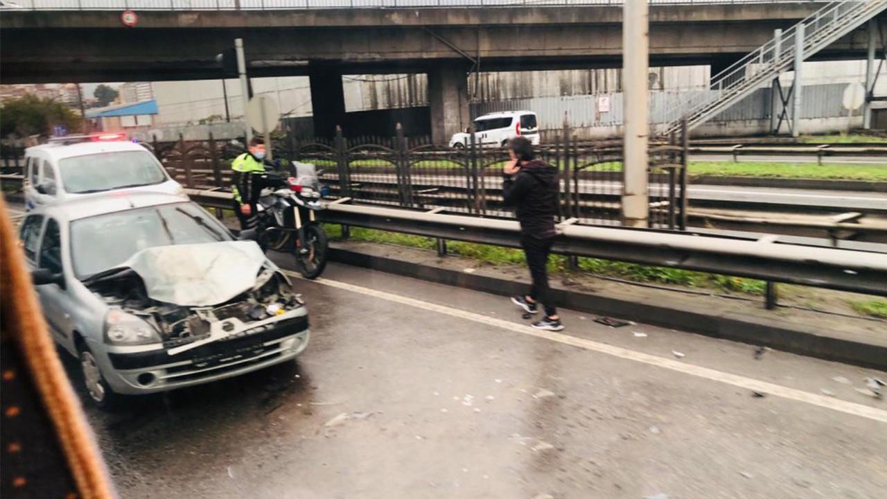 Trabzon'da zincirleme kaza! 15 araç birbirine girdi