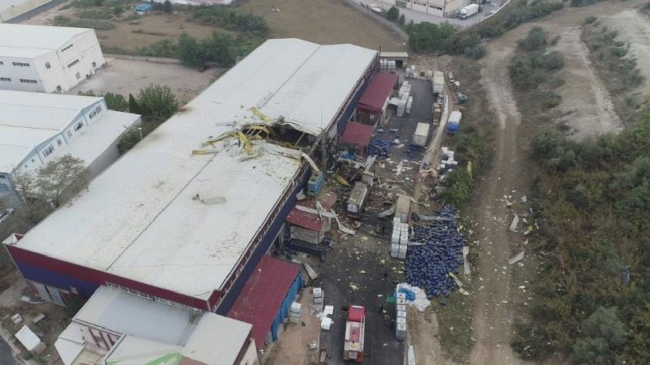 Kimya fabrikasındaki patlamada müdür tutuklandı! Bir işçi hayatını kaybetmişti