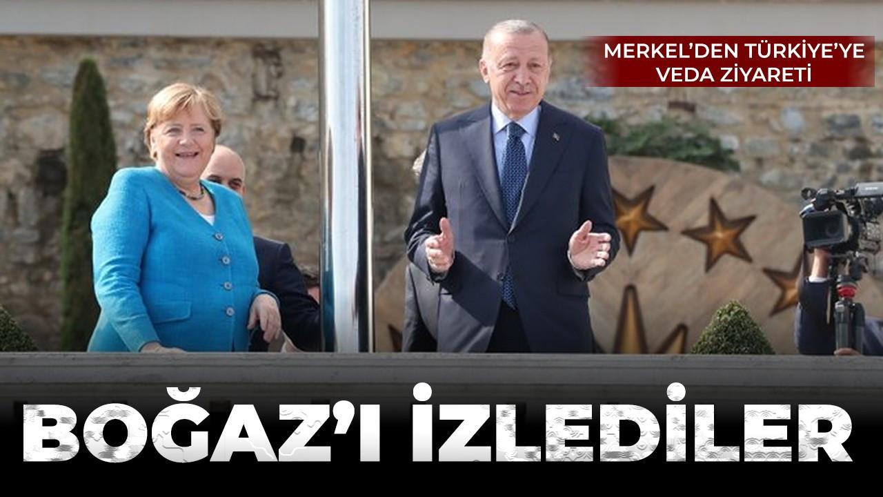 Almanya Şansölyesi Angela Merkel Türkiye'de