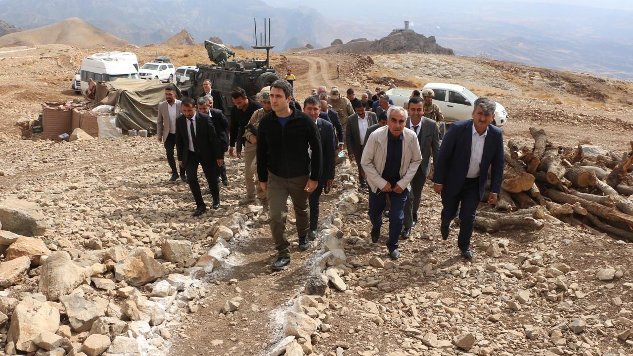 40 muhtar ile terörden temizlenen Cudi Dağı'na gezi