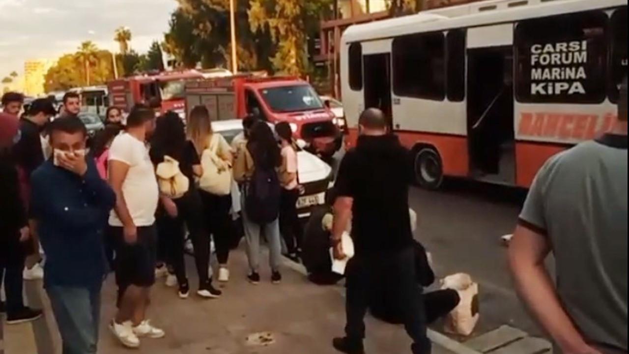 Mersin'de otobüsle minibüs çarpıştı: 20 yaralı