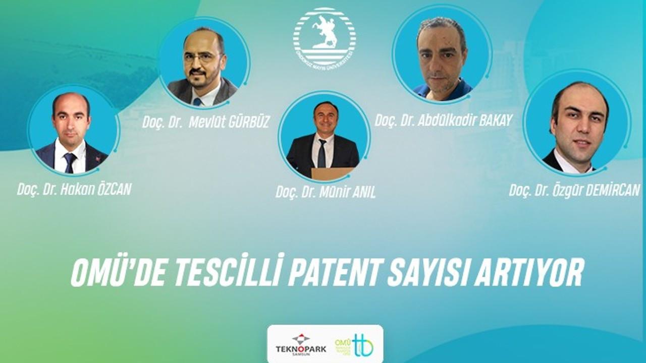 OMÜ'den 4 patent tescili daha