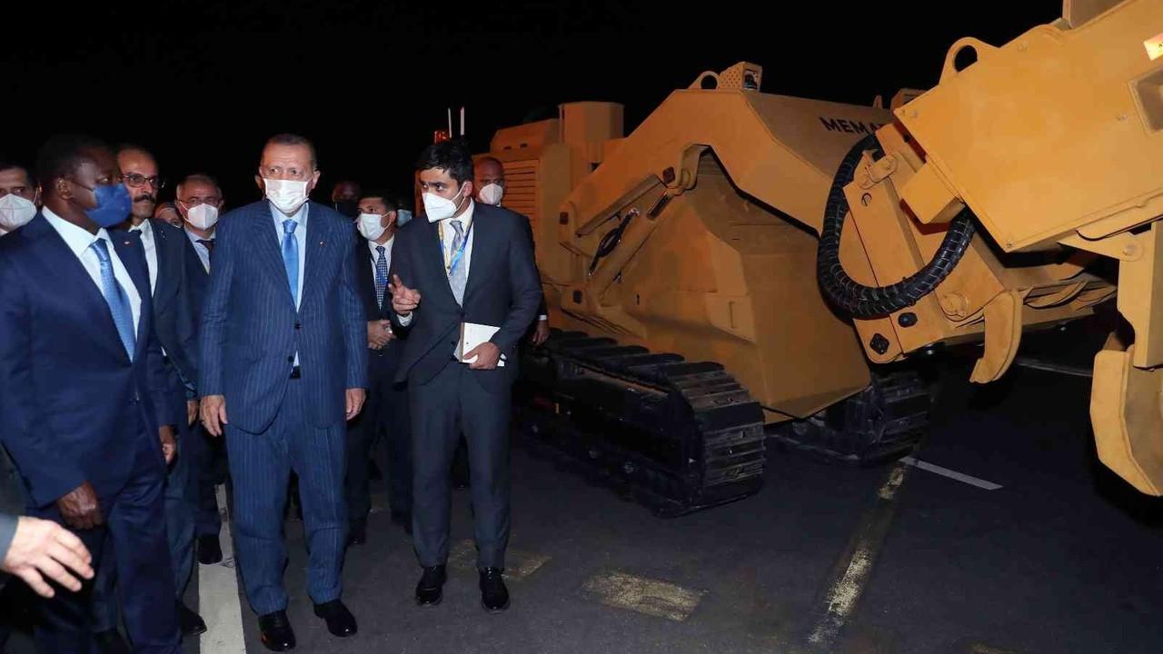 Cumhurbaşkanı Erdoğan, Togo'dan ayrıldı