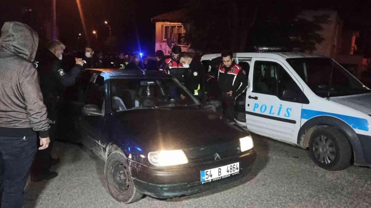 'Dur' ihtarına uymayan şahıslar için polis harekete geçti