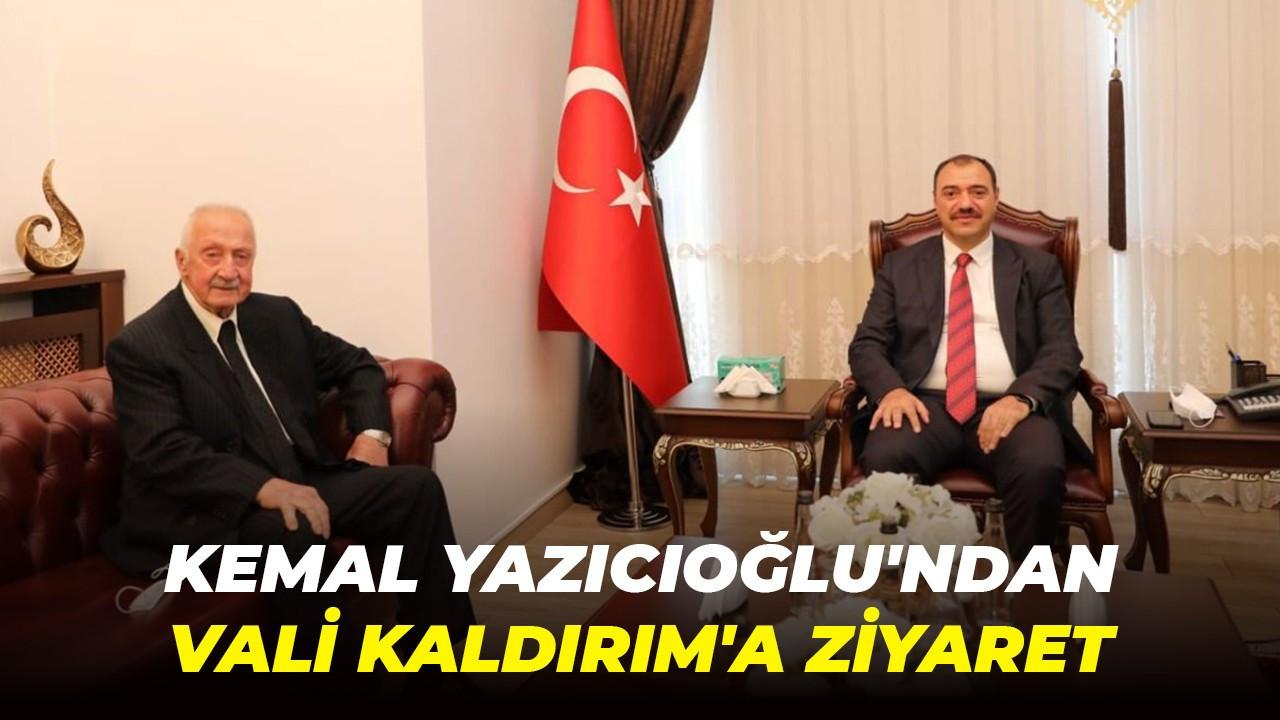 Kemal Yazıcıoğlu'ndan Vali Kaldırım'a ziyaret