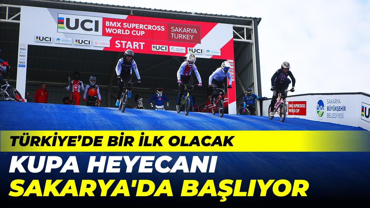 Türkiye'de bir ilk olacak kupa heyecanı Sakarya'da başlıyor